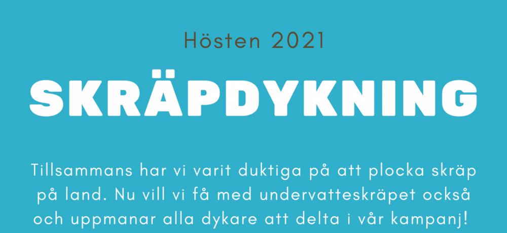 Skräpdykarkampanj 2021