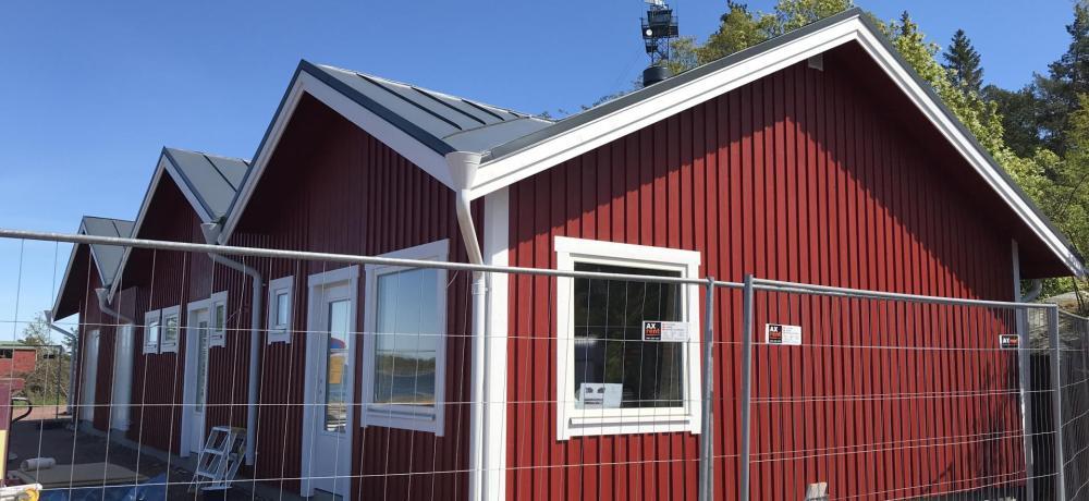 Hamnsundet, nya servicehuset